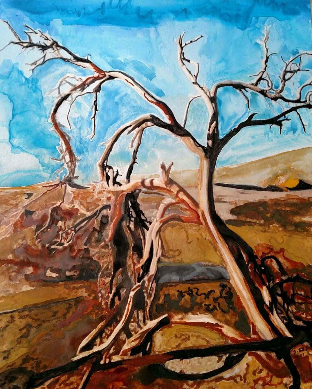 death-valley-tree