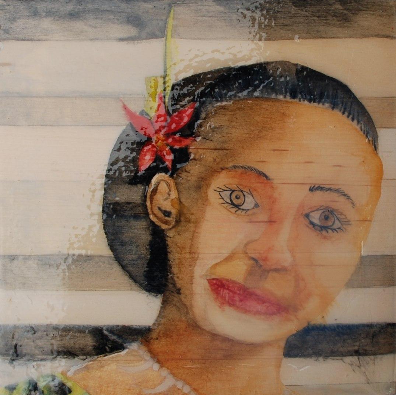 Hill-Dowdy, Entry #3, Samoa Flower Woman